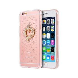 Apple iPhone 6/6S Plus Heart to Heart 5.5-inch 3D Diamond TPU Design Case