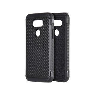 LG G5 Tough Hybrid Carbon Fiber TPU Case