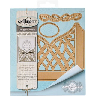 Spellbinders Shapeabilities Dies Classic Elegance Tall Pocket