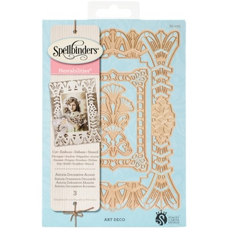 Spellbinders Nestabilities Dies Astoria Decorative Accent