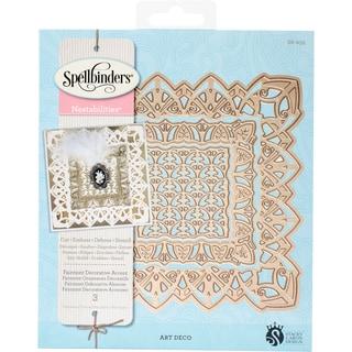 Spellbinders Nestabilities Decorative Elements Dies Fairmont Accent