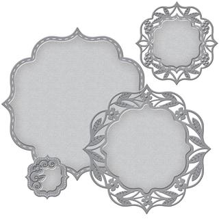 Spellbinders Nestabilities Decorative Elements Dies Labels 50
