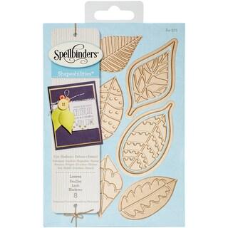 Spellbinders Shapeabilities Dies Leaves