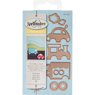 Spellbinders Shapeabilities Die D-Lites Little Guy