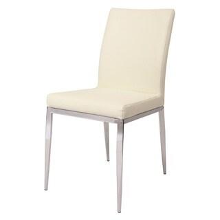Sundance Chrome Steel/Polyurethane Dining Chair