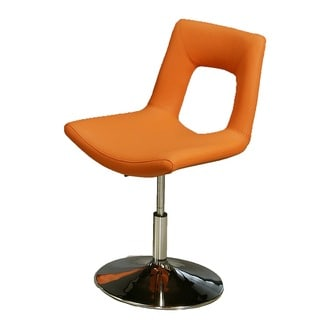 Dublin Chrome Steel and Polyurethane Side Chair