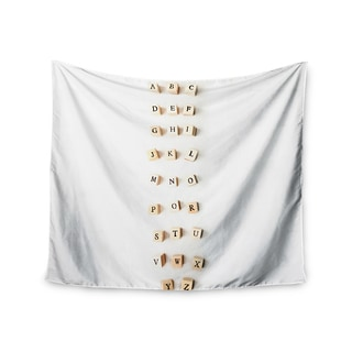 Kess InHouse Ingrid Beddoes 'ABC' 51x60-inch Wall Tapestry