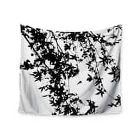 Kess InHouse Ingrid Beddoes 'Black on White' 51x60-inch Wall Tapestry