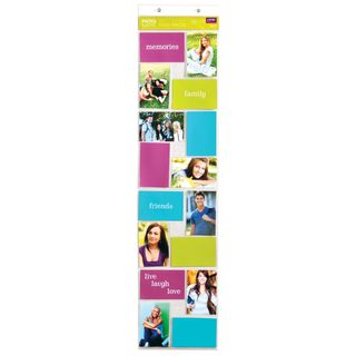 Clear Plastic 4-inch x 6-inch 16-opening Snap Wall Gallery