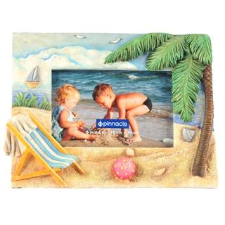Pinnacle 6-inch x 4-inch Beach Photo Frame