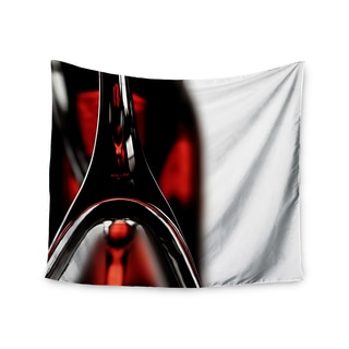 Kess InHouse Ingrid Beddoes 'Red for Two' 51x60-inch Wall Tapestry