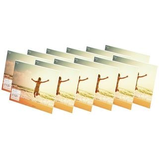 Snap Horizontal Acrylic Frames (Pack of 12)