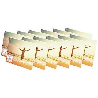 Snap Horizontal Acrylic Frames (Pack of 12)