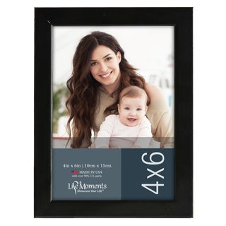 Life Moments Black Wood Frames (Pack of 6) (5 options available)