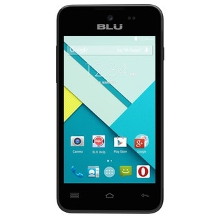 BLU Advance 4.0 L A010U Unlocked GSM Dual-SIM HSPA+ Android Certified Refurbished Phone - Black