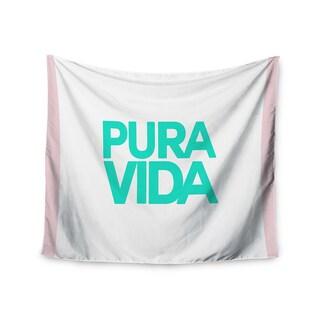 Kess InHouse Geordanna Cordero-Fields 'Turquoise Pura Vida' 51x60-inch Wall Tapestry