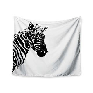 Kess InHouse Geordanna Cordero-Fields 'My Zebra Head' 51x60-inch Wall Tapestry