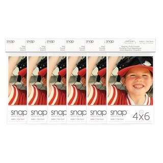Snap 2 Pack of Magnetic Photo Pocket Frames