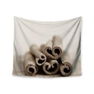 Kess InHouse Iris Lehnhardt 'Cinnamon Sepia' 51x60-inch Wall Tapestry