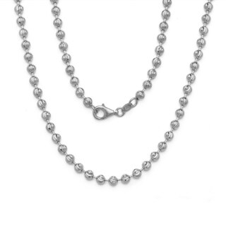 Decadence 14K White Gold Moon-cut Chain