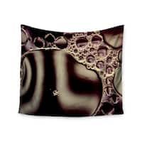 Kess InHouse Ingrid Beddoes 'Deep Purple' 51x60-inch Wall Tapestry