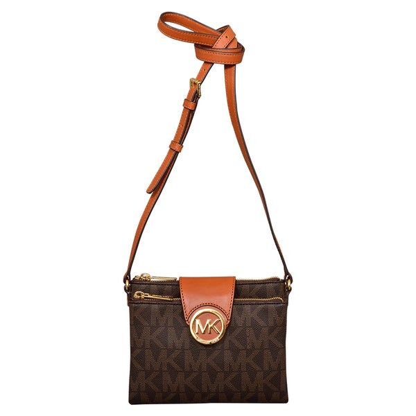f4fe87ba4dd9 Shop Michael Kors Large Fulton Crossbody - Free Shipping Today - Overstock  - 12141076