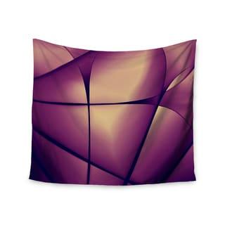 Kess InHouse Ingrid Beddoes 'Paper Heart' 51x60-inch Wall Tapestry