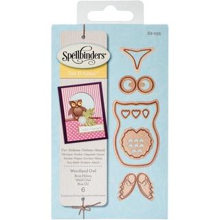 Spellbinders Shapeabilities Die D-Lites Woodland Owl