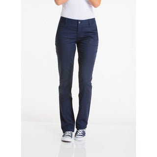 Lee Juniors Navy Original Straight Leg Pants