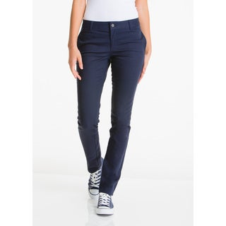 Lee Juniors' Navy Cotton/Spandex 5-pocket Skinny Pant