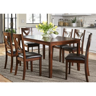Thornton Russet 7-piece Dinette Set
