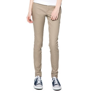 Lee Juniors Khaki Original Skinny Pants