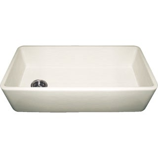 Duet Fireclay Reversible Sink With Smooth Front Apron