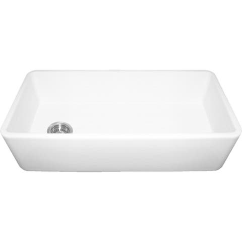 Whitehaus Collection Duet Single Bowl Sink