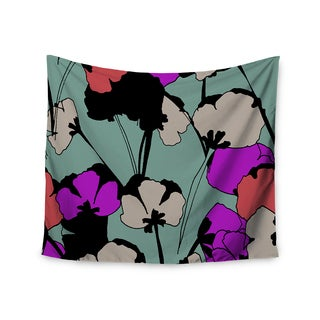 Kess InHouse Gabriela Fuente 'Vintage Flowers' 51x60-inch Wall Tapestry