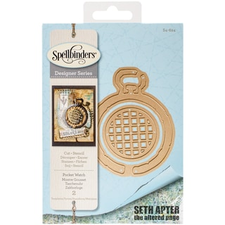 Spellbinders Shapeabilities Dies Pocket Watch