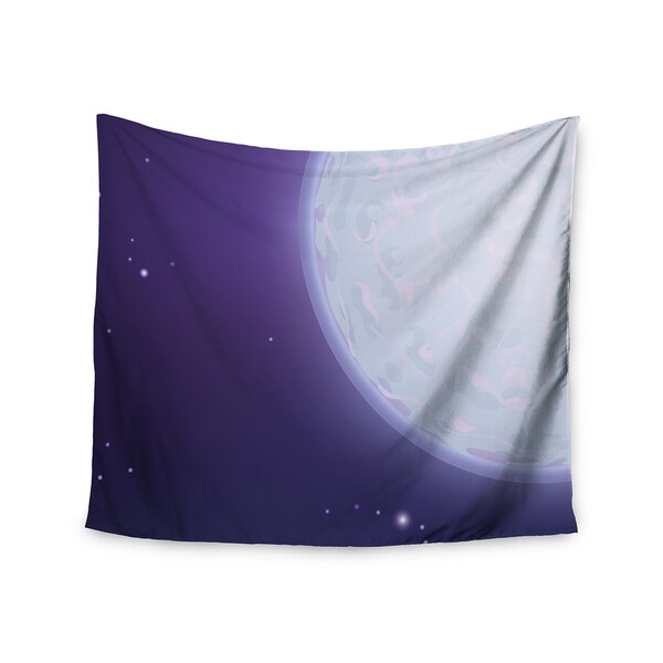 Kess InHouse Fotios Pavlopoulos 'Full Moon' 51x60-inch Wall Tapestry