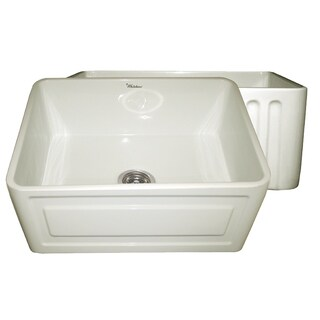 Whitehaus Collection Fireclay Reversible Sink