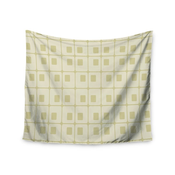 Kess InHouse Fotios Pavlopoulos 'Squares in Square' 51x60-inch Wall Tapestry