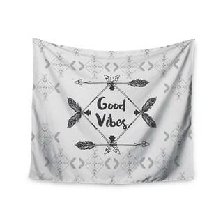 Kess InHouse Famenxt 'Boho Good Vibes' 51x60-inch Wall Tapestry