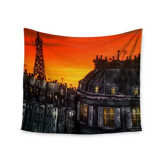 Kess InHouse Christen Treat 'Paris' 51x60-inch Wall Tapestry