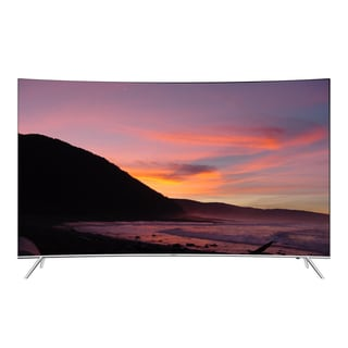 Samsung Refurbished 55-inch Curved 4K Ultra Smart LED HDTV with Wi-Fi