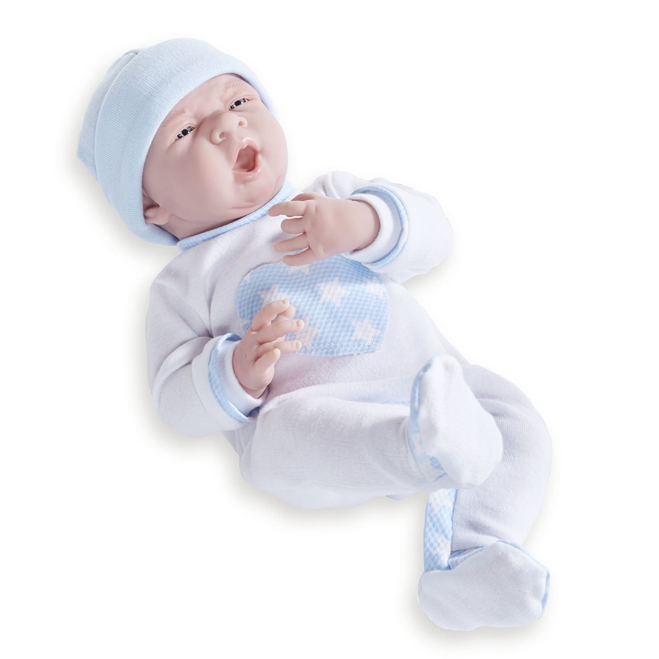 Vinyl and Fabric Realistic Twin Dolls with Cuddly Pajamas...
