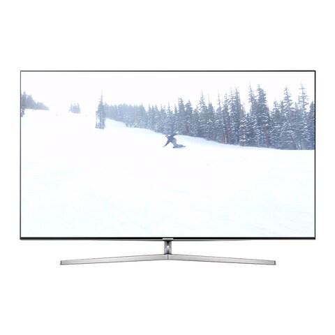 Samsung Refurbished 55-inch 4K Ultra SUHD Supreme 240 MR Smart LED HDTV with Wifi - Black
