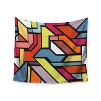 Kess InHouse Danny Ivan 'Abstract Shapes' 51x60-inch Wall Tapestry