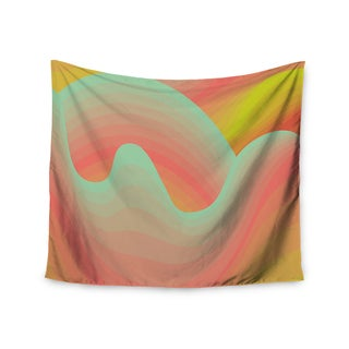 Kess InHouse Akwaflorell 'Way of the Waves' 51x60-inch Wall Tapestry