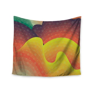 Kess InHouse Akwaflorell 'Waves Waves' 51x60-inch Wall Tapestry
