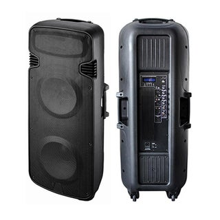 Blackmore 3300-watt Dual 15-inch Bluetooth Speaker