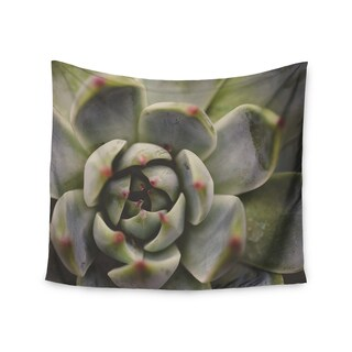 Kess InHouse Debbra Obertanec 'Desert Succulent' 51x60-inch Wall Tapestry