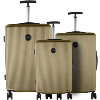 Murano Khaki 3-piece Lightweight Hardside Spinner Luggage Set|https://ak1.ostkcdn.com/images/products/12141596/P18997357.jpg?impolicy=medium